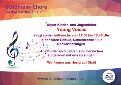 Anzeige Young Voices final